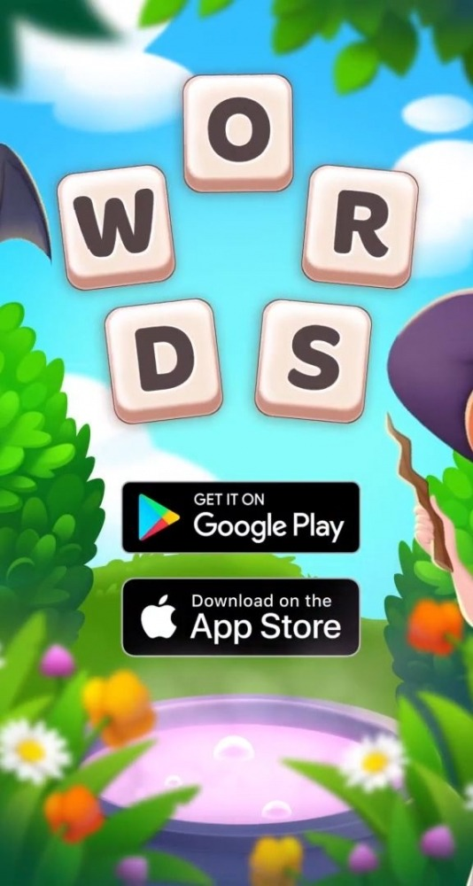 Magic Words: Crosswords - Word Search Android Game Image 1
