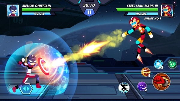 Stickman Fighter Infinity - Super Action Heroes Android Game Image 4