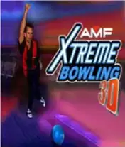 AMF Xtreme Bowling 3D Java Game Image 1