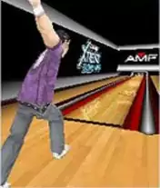 AMF Xtreme Bowling 3D Java Game Image 2