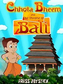 Chhota Bheem And The Throne Of Bali Java Game Image 1