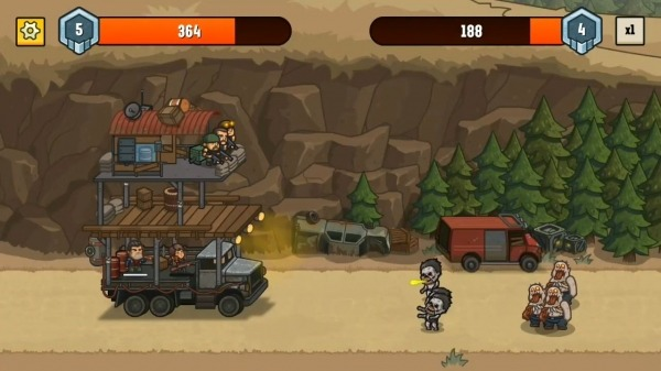 Camp Defense Android Game Image 1