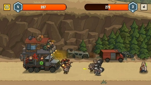 Camp Defense Android Game Image 2