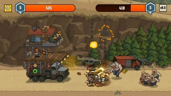 Camp Defense Android Game Image 3
