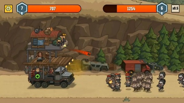 Camp Defense Android Game Image 4