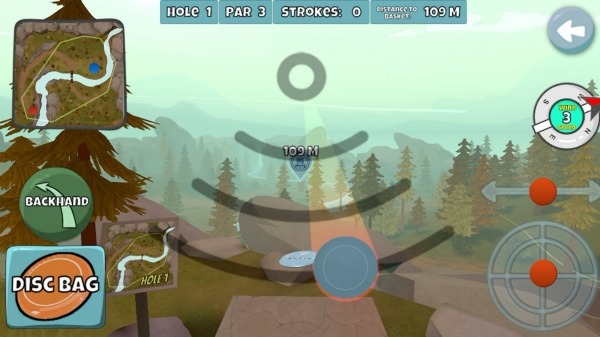 Disc Golf Valley Android Game Image 1