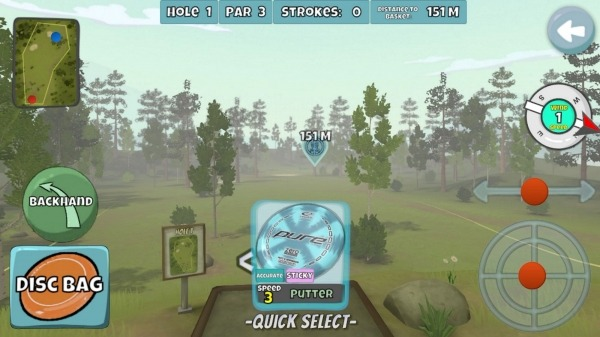 Disc Golf Valley Android Game Image 2