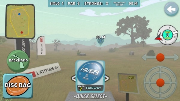 Disc Golf Valley Android Game Image 4