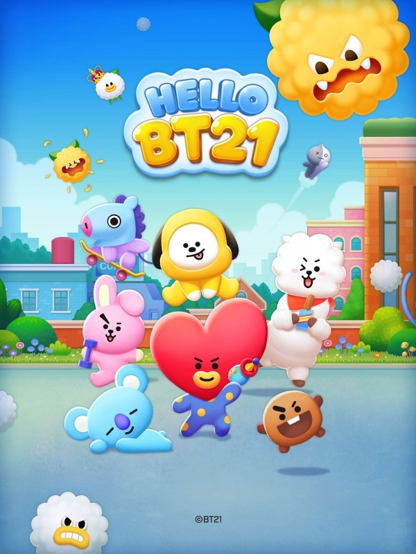 HELLO BT21 Android Game Image 1