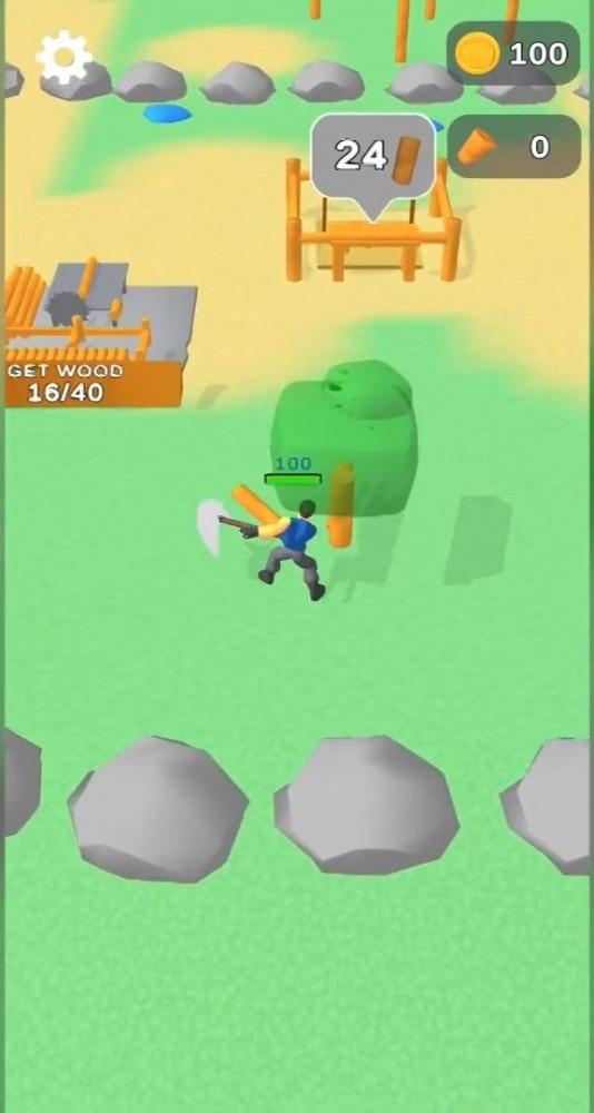 Lumbercraft Android Game Image 1