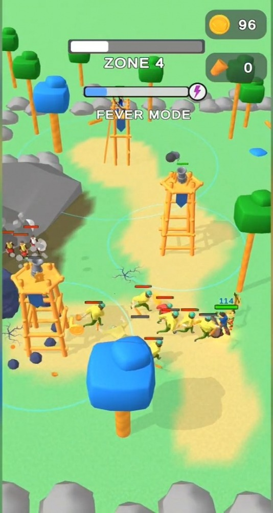 Lumbercraft Android Game Image 2