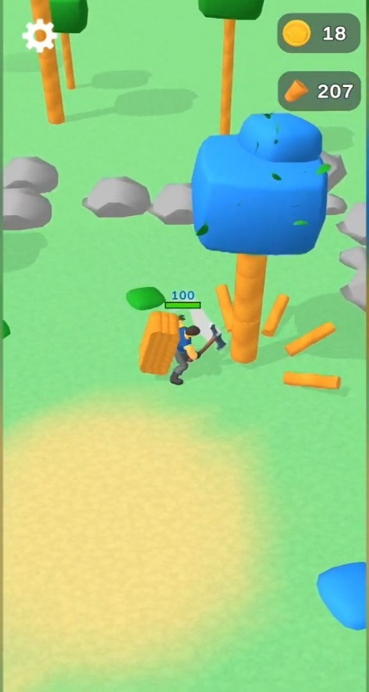 Lumbercraft Android Game Image 3