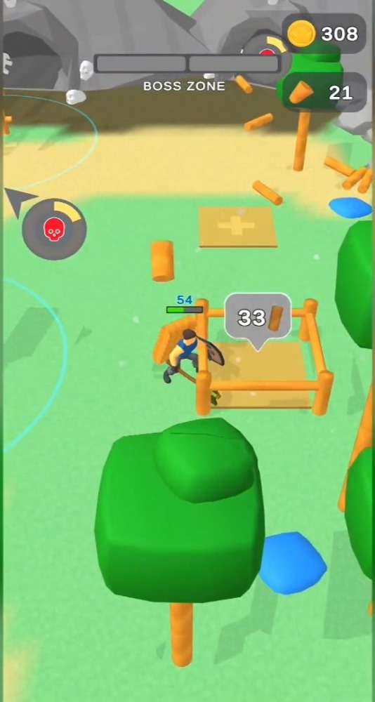 Lumbercraft Android Game Image 4