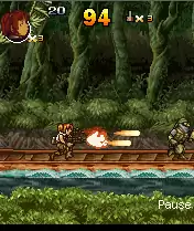 Metal Slug X Java Game Image 2