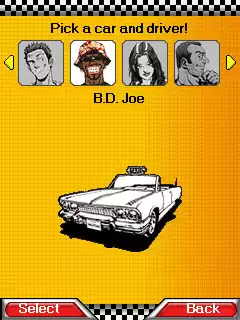 Crazy Taxi Java Game Image 2
