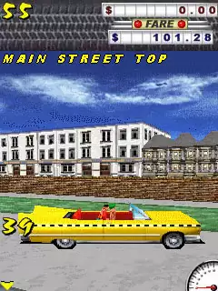 Crazy Taxi Java Game Image 3