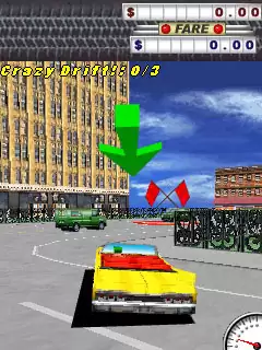 Crazy Taxi Java Game Image 4