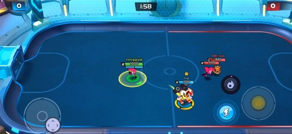 Rageball League Android Game Image 1