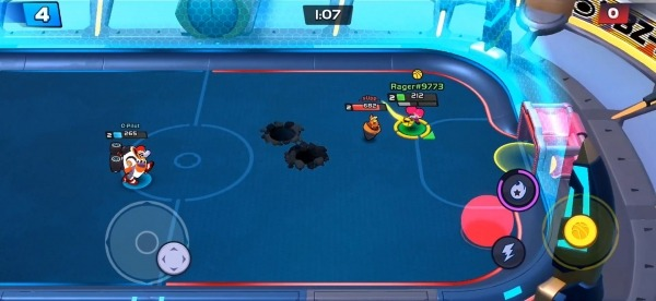 Rageball League Android Game Image 2