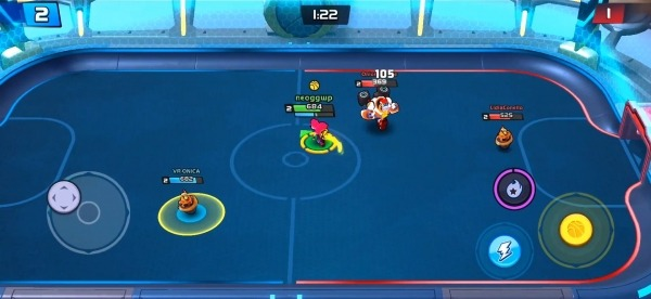 Rageball League Android Game Image 3