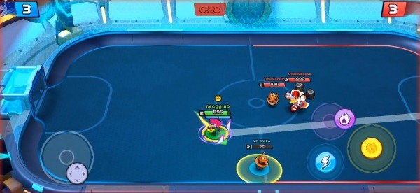 Rageball League Android Game Image 4