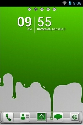Color Drip Go Launcher Android Theme Image 1
