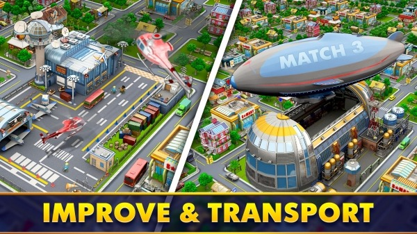Mayor Match: Town Building Tycoon & Match-3 Puzzle Android Game Image 3