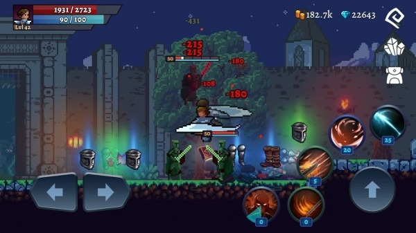 Darkrise - Pixel Classic Action RPG Android Game Image 1