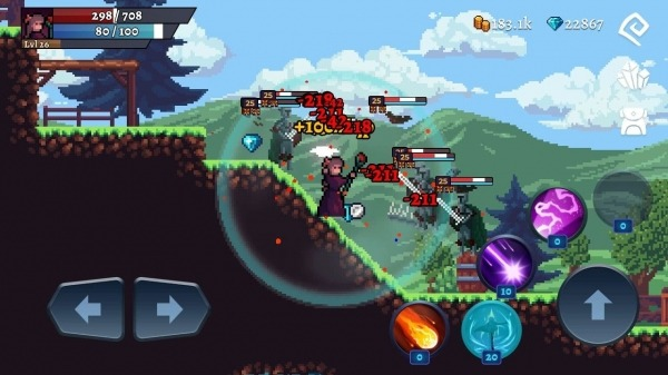 Darkrise - Pixel Classic Action RPG Android Game Image 2