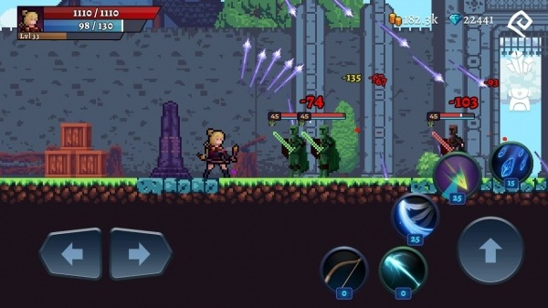 Darkrise - Pixel Classic Action RPG Android Game Image 3