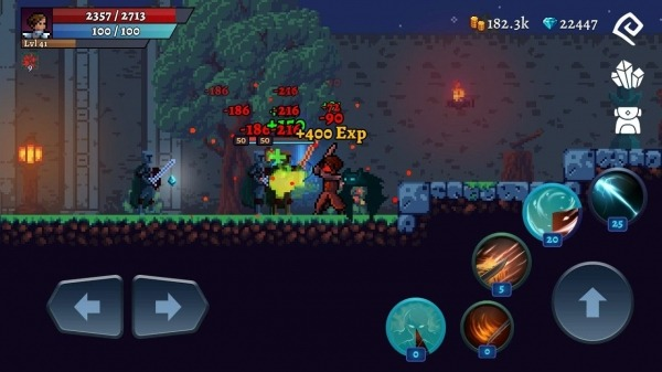 Darkrise - Pixel Classic Action RPG Android Game Image 4