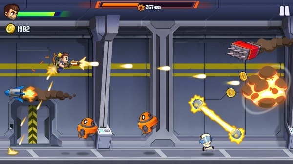 Jetpack Joyride 2: Bullet Rush Android Game Image 1