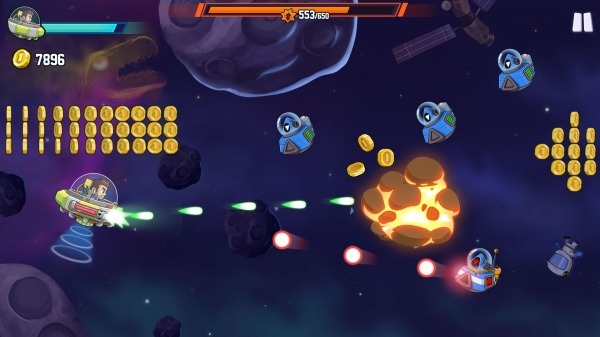 Jetpack Joyride 2: Bullet Rush Android Game Image 2
