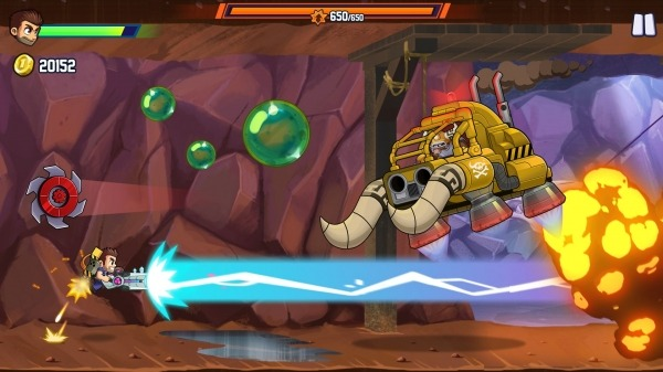 Jetpack Joyride 2: Bullet Rush Android Game Image 3
