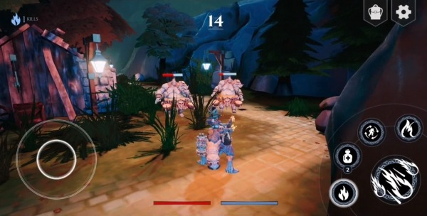 The Legend Of Red Fire Android Game Image 2