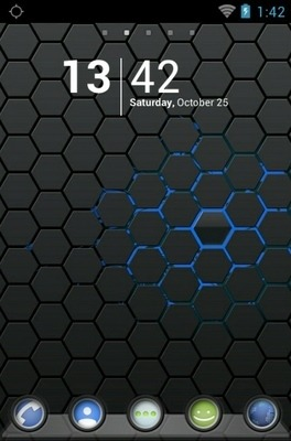 Melinjo Go Launcher Android Theme Image 1