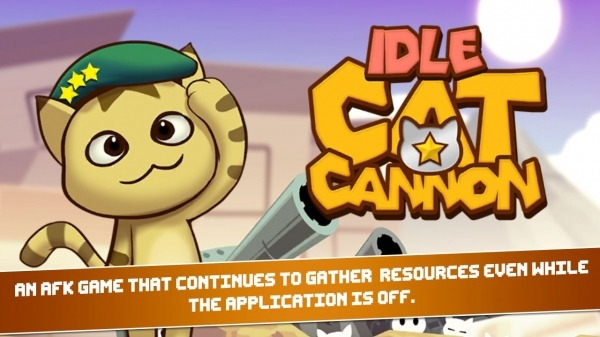 Idle Cat Cannon Android Game Image 1