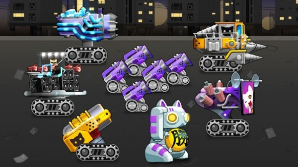 Idle Cat Cannon Android Game Image 2