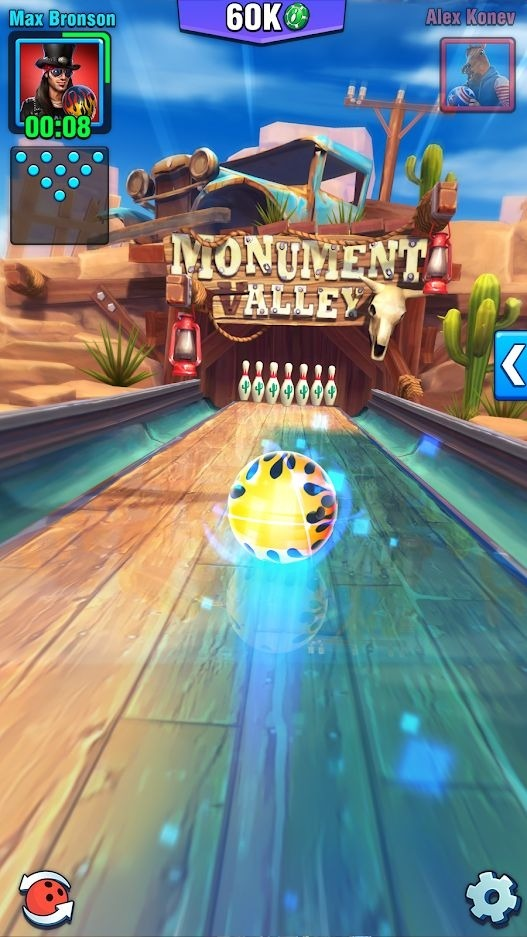 Bowling Crew Android Game Image 2