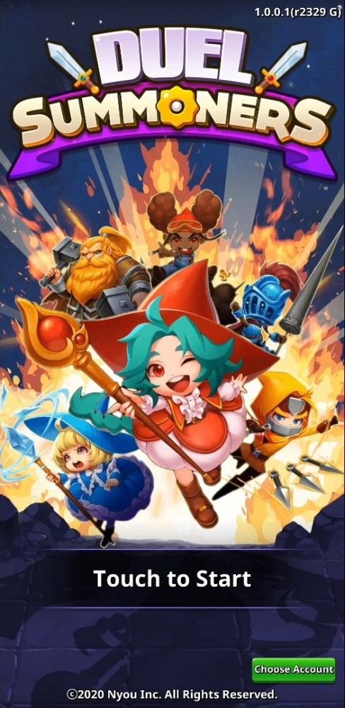 Duel Summoners - Puzzle & Tactic Android Game Image 1