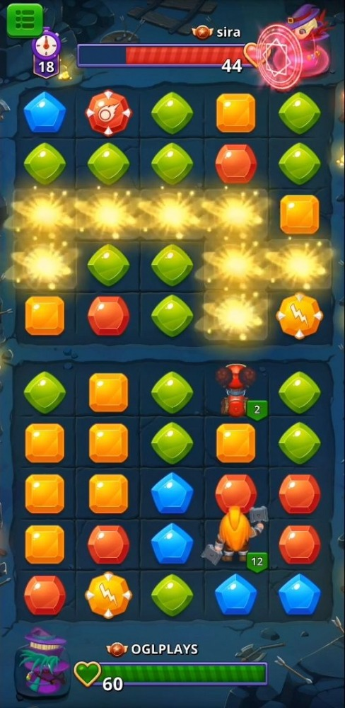 Duel Summoners - Puzzle & Tactic Android Game Image 2