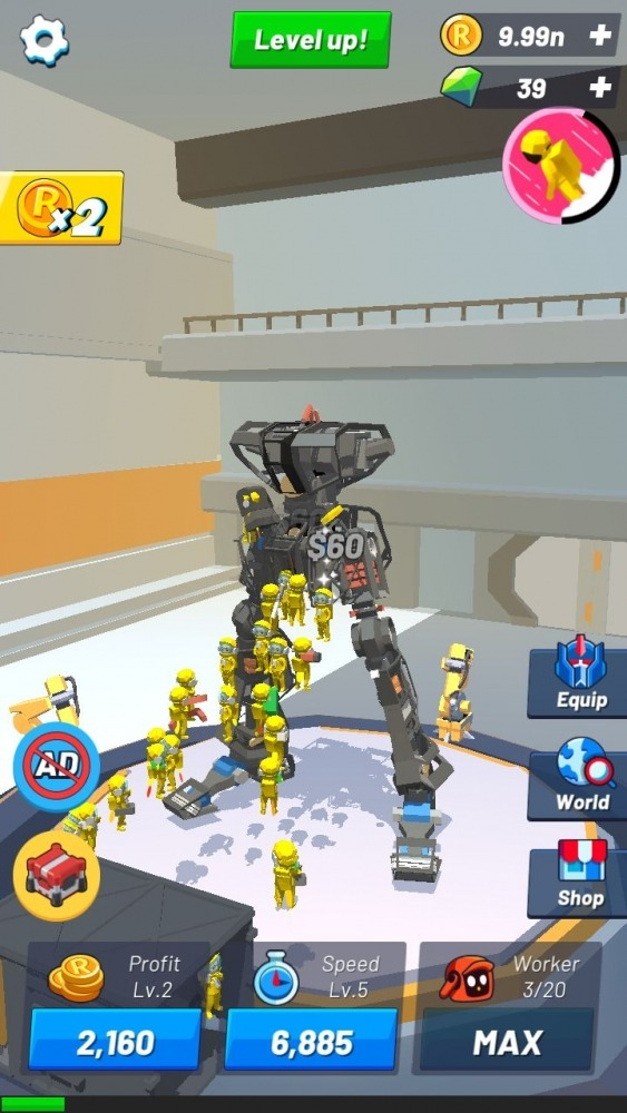 Idle Robot Inc - Idle, Tycoon & Simulation Android Game Image 2