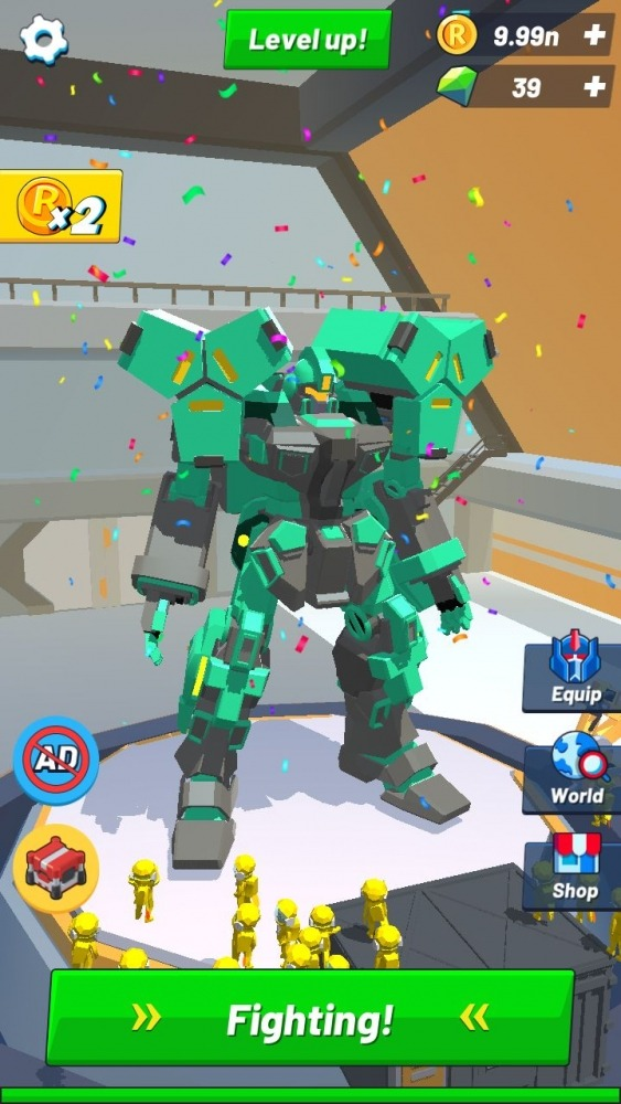 Idle Robot Inc - Idle, Tycoon & Simulation Android Game Image 3