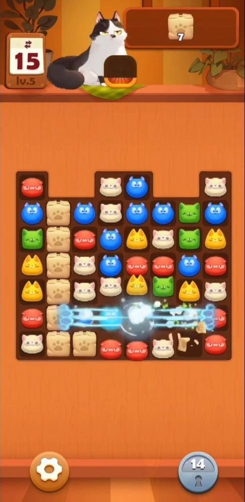 Neko Crush Android Game Image 2