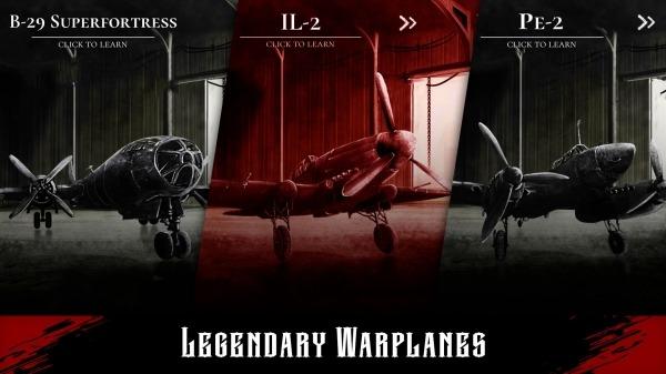Warplane Inc. Dogfight War Arcade & Warplanes WW2 Android Game Image 1