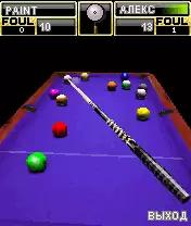 3D American Billiards Java Game Image 2
