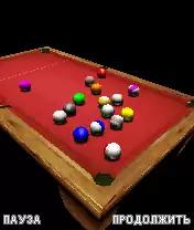 3D American Billiards Java Game Image 3