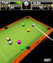 3D American Billiards Java Game Image 4