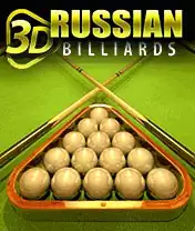 3D Russian Billiards Java Game Image 1