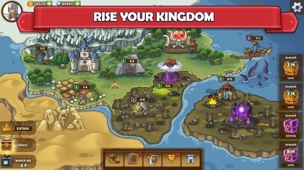 Clash Of Legions - Kingdom Rise Android Game Image 1